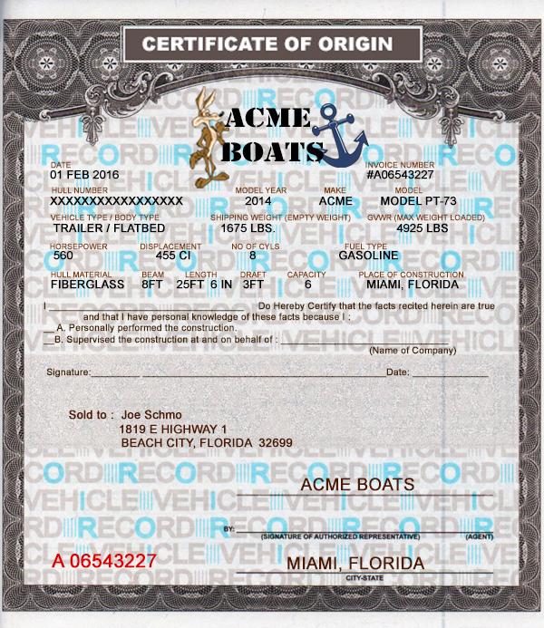 Boat License Boat License Lost