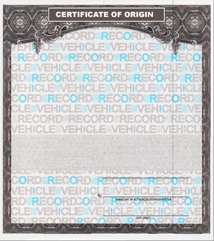 Universal Certificates of Origin