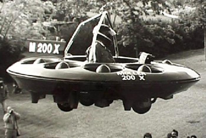 Flying Saucer Car