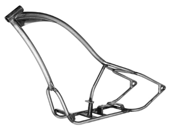 motorcycle chopper frame license process - Motorcycle Frame