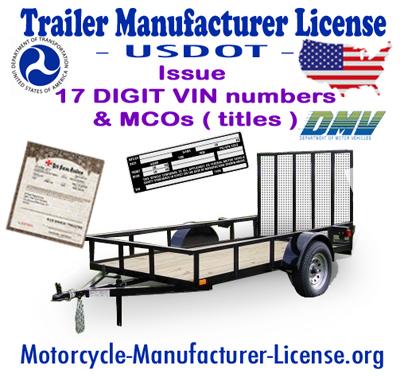 trailer manufacturer license agent